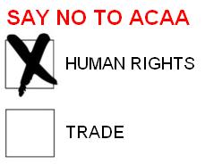 No to ACAA