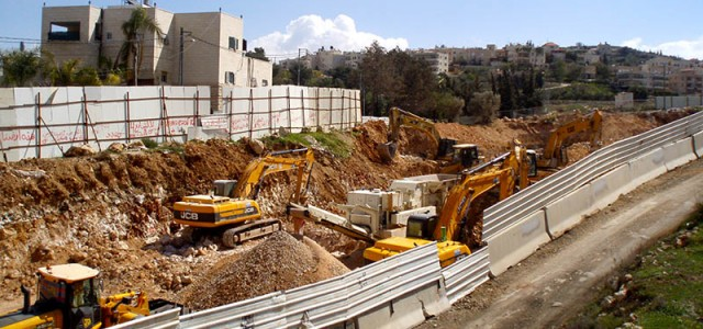 United Nations Special Rapporteur Richard Falk called on May 13th  for an immediate halt to construction of a settlement highway in Beit Safafa (East Jerusalem), also known as the 'Begin...