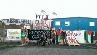 In the UK, more than 150 activists blockaded the UAV Engines Limited factory in Shenstone, Staffordshire. UAV is a subsidiary of Elbit, and has been reported by Amnesty International to...
