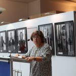 Ana Gomes MEP hosting the exhibition