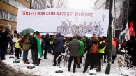 Hundreds of people took part in a protest on Monday, December 11th, outside the European Council building in Brussels where EU Foreign Affairs Ministers were hosting Israeli Prime Minister Benyamin...