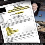 "MEPs ""compensation bill"" for Benyamin Natanyahu"
