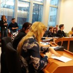 Civil society organisations present at the hearing