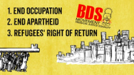 PDF  Enough with the criminalisation of the BDS movement for justice in Palestine! Let's support right to boycott! Why this is important: The French High Court has upheld […]